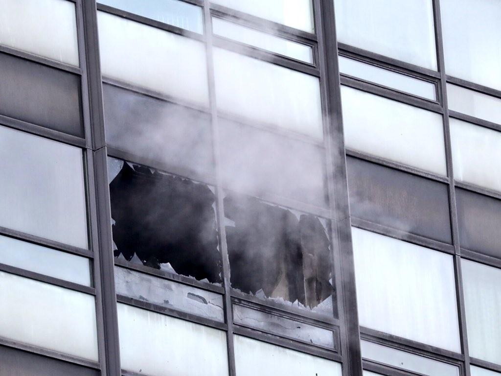 Brand in Hamburger Klinik: Vier Verletzte