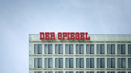 Das SPIEGEL-Haus auf der Ericusspitze in der Hamburger Hafen City.