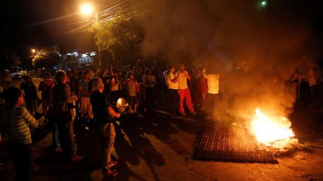 Massenproteste nach der Präsidentschaftswahl in Honduras