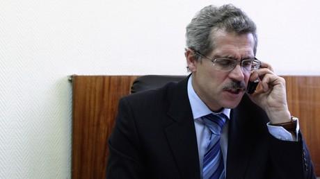 Der damalige Chef des russischen Anti-Doping-Zentrums, Grigori Rodtschenkow, in seinem Büro im Jahr 2009.