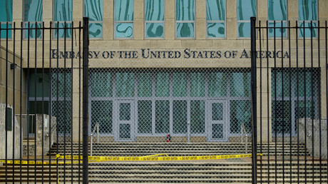 US-Botschaft auf Kuba, 19. September 2017.