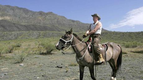 Der russische Präsident Wladimir Putin gilt als ein Pferde- und Hundefreund und als ein Mann, der die Natur und das russische Landleben liebt.