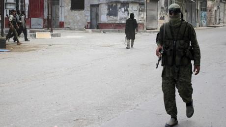 Kämpfer der Al-Kaida-Truppe