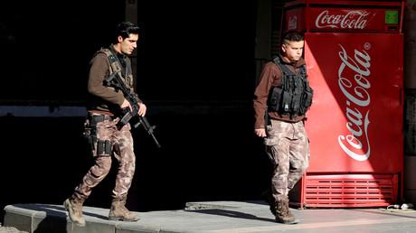 Erneut Razzien gegen IS vor Silvester in Türkei (Symbolbild)