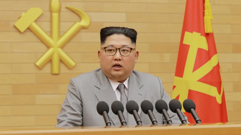 """Nordkoreas Staatschef Kim Jong-un: """"Der Atomwaffen-Knopf ist immer auf meinem Schreibtisch"""""""