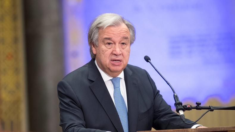 UN-Generalsekretär ruft Alarmstufe Rot für unsere Welt aus