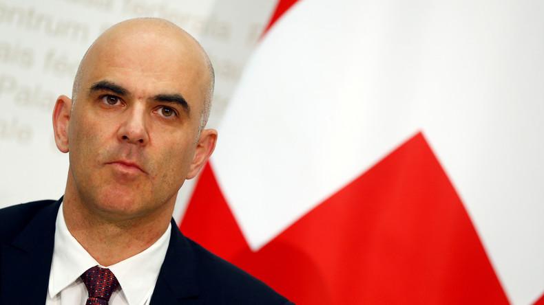 Alain Berset tritt Amt als Schweizer Bundespräsident an