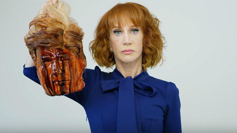 Sie zeigte Trump mit abgetrenntem Kopf - Und beschwert sich nun über die Reaktionen