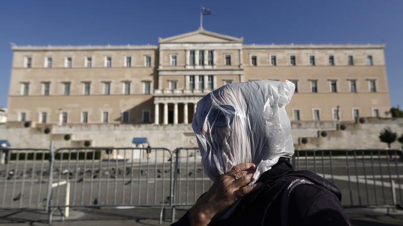 Griechen sagen Gratis-Plastiktüten den Kampf an