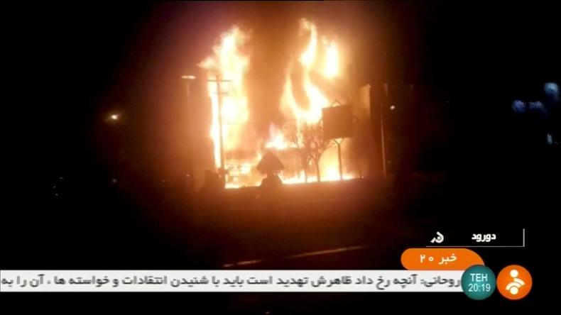 Proteste im Iran: Demonstranten sollen einen Revolutionswächter getötet haben