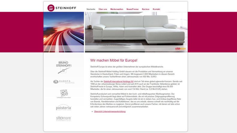 Bilanzskandal bei Ikea-Rivale Steinhoff weitet sich aus