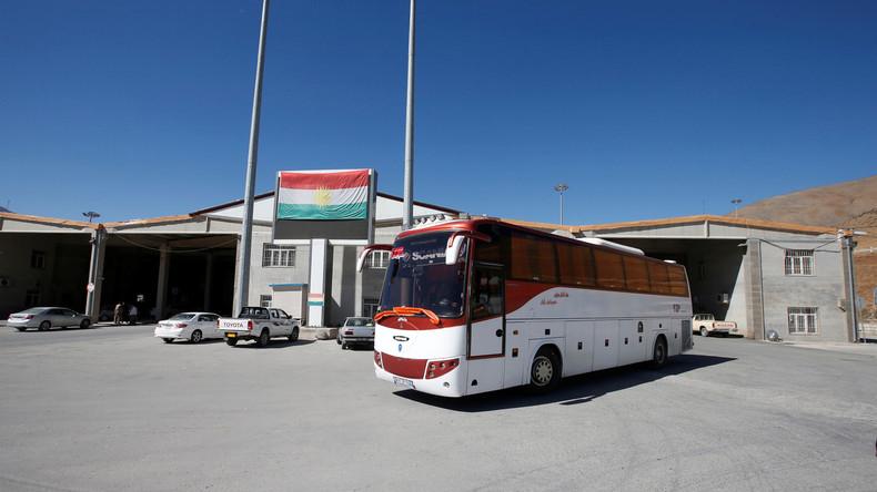 Iran öffnet zwei Grenzübergänge zu Kurdengebieten im Nordirak