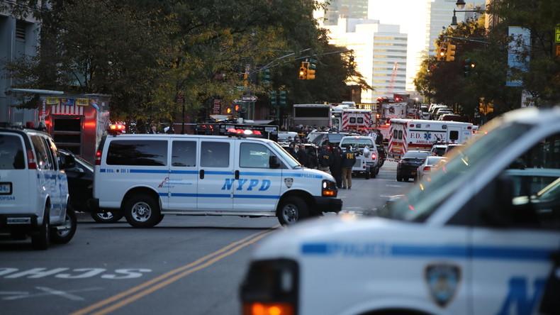 New York installiert mehr Straßenpoller gegen Terroranschläge