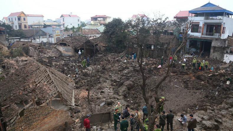 Blindgänger-Explosion in Vietnam: Zwei Kinder ums Leben gekommen