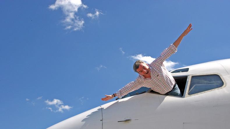Polnischer Mann auf einem Flugzeugflügel in Malaga: Ausgestiegen wegen Atemnot