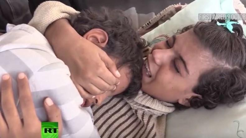 RT Exklusiv: Der erschütternde Überlebenskampf eines Geschwisterpaares in Deir ez-Zor [Video]