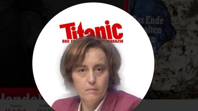 """Der ganz normale Twitter-Wahnsinn: Jetzt auch Tweet von Satire-Magazin """"Titanic"""" gelöscht"""