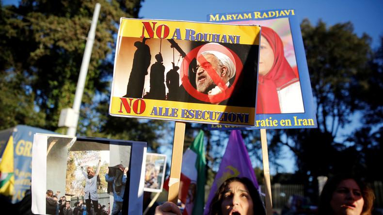 """Russland warnt Trump: Ausländische Einmischungen im Iran sind """"unakzeptabel"""""""