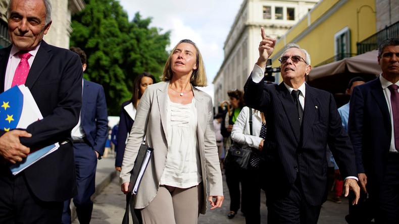 EU-Außenbeauftragte Federica Mogherini kritisiert Blockadepolitik gegen Kuba