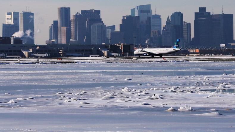Kältewelle sorgt an US-Ostküste für Chaos – 2.700 Flüge gestrichen