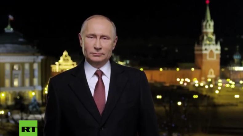 """Putins Neujahrsansprache in ganzer Länge: """"Lasst wahre Menschlichkeit walten!"""""""