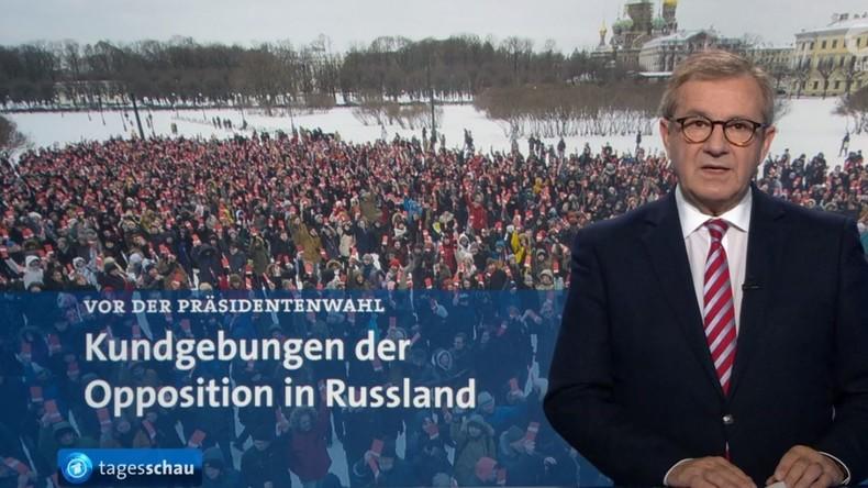 Programmbeschwerde gegen ARD-Tagesschau: Antirussische Propaganda und hetzerische Kampagnen