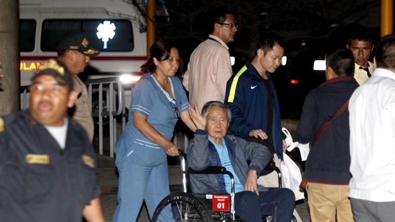 Perus Ex-Staatschef Alberto Fujimori verlässt Krankenhaus nach Begnadigung