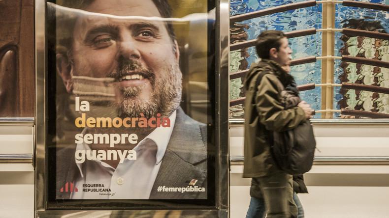 Katalanischer Separatistenführer Oriol Junqueras bleibt in U-Haft