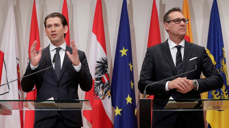 Österreichs Vize-Kanzler Strache relativiert seine Aussage zur Flüchtlingsunterbringung
