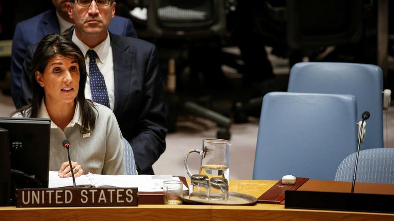"""""""Sie haben Allergie gegen Iran"""": Kritik an USA wegen UN-Sicherheitsratssitzung zu Iran"""
