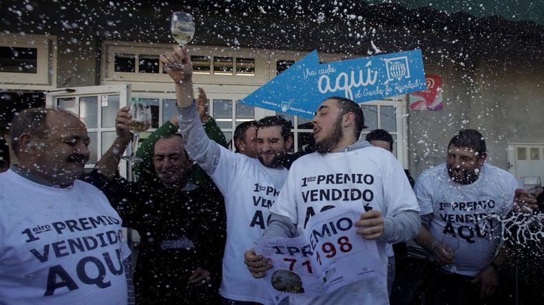 Jesuskind-Lotterie schüttet in Spanien 700 Millionen Euro aus