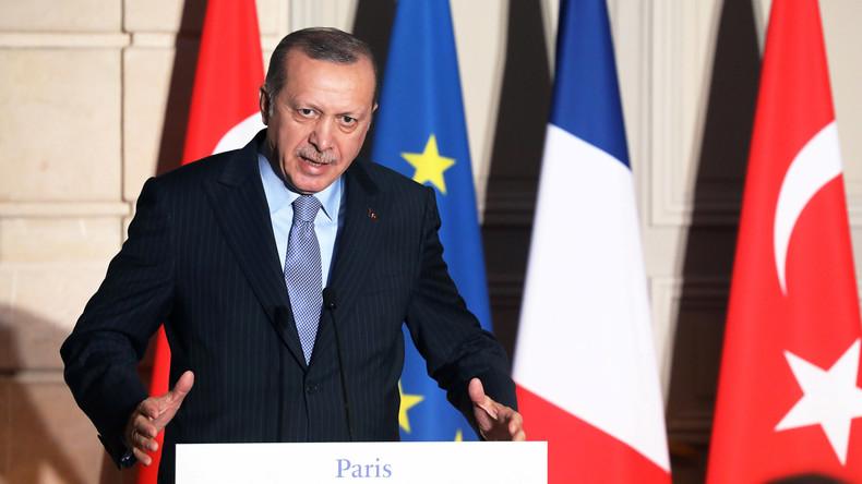 Recep Tayyip Erdoğan kritisiert USA scharf wegen Schuldspruch gegen türkischen Banker