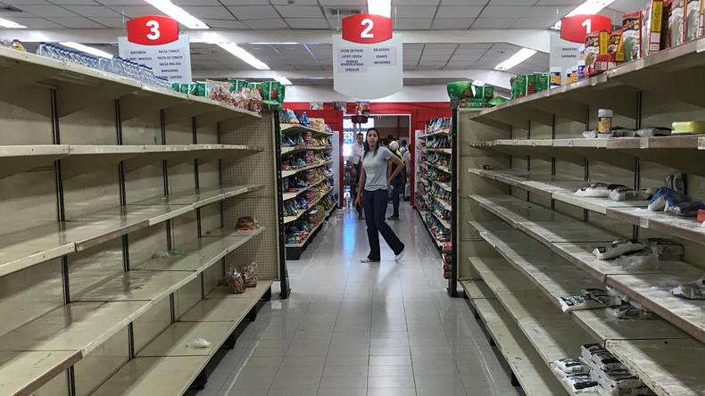 Nach Plünderungen in Venezuela: Militär kontrolliert Supermärkte