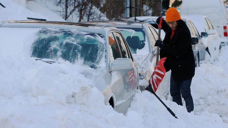 Eiseskälte in USA fordert bereits 22 Menschenleben