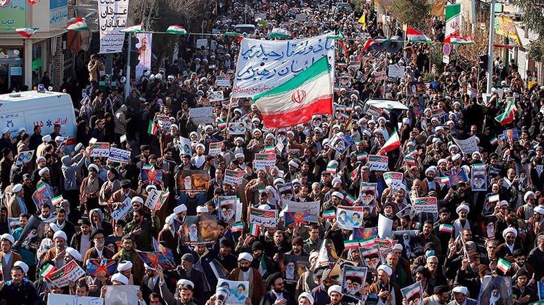 """Irans Revolutionsgarde erklärt Sieg über """"von ausländischen Mächten unterstützte Unruhen"""""""