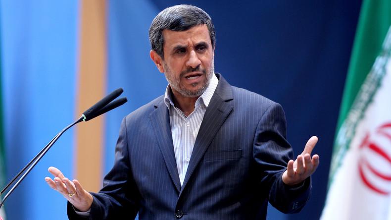 Medienberichte: Iranischer Ex-Präsident Ahmadinedschad wegen Unterstützung der Proteste festgenommen