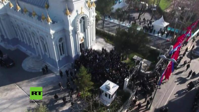 """Türkei: """"Sie können Ihre Religion frei ausüben"""" - Erdogan eröffnet bulgarische Kirche in Istanbul"""