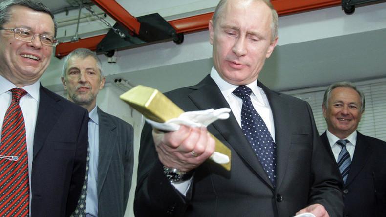 Experte: Goldreserven von Russland und China könnten US-Dominanz der Weltwirtschaft erschüttern