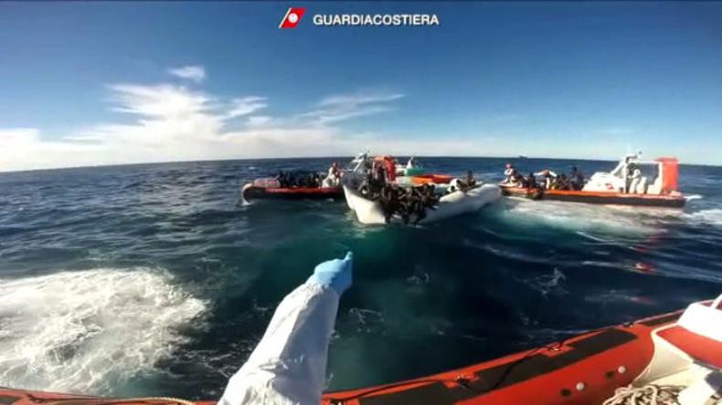 Flüchtlingsdrama im Mittelmeer: Zahl der Toten steigt auf 64