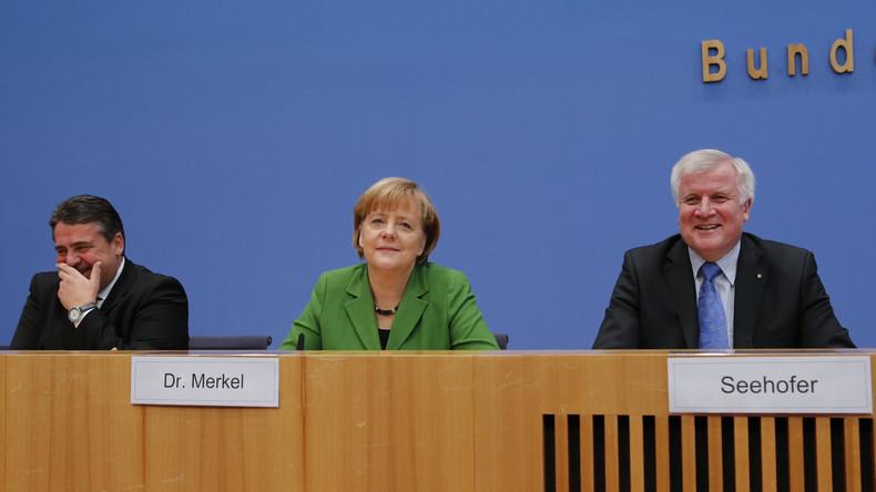 LIVE ab 19 Uhr: Pressekonferenz zu Sondierungsgesprächen zwischen SPD, CDU und CSU in Berlin
