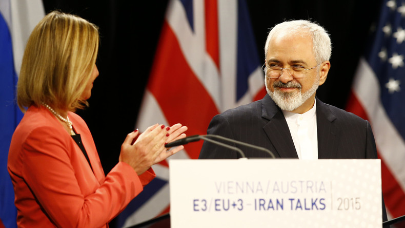 Irans Außenminister kommt nach Unruhen nach Brüssel