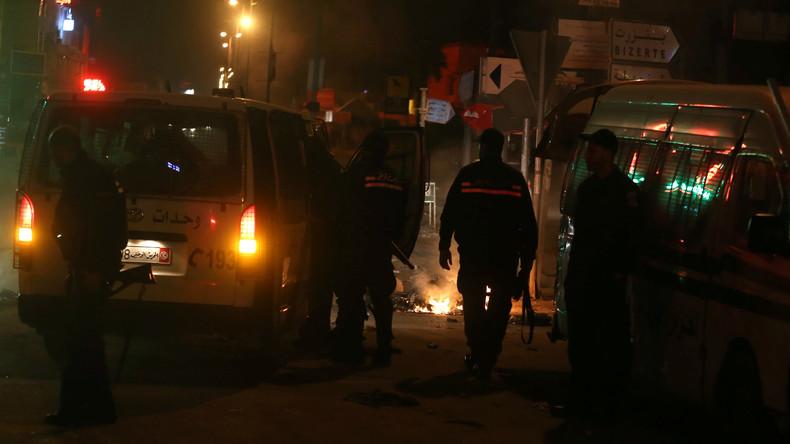 Protestaktion gegen steigende Preise in Tunesien: Ein Demonstrant tot