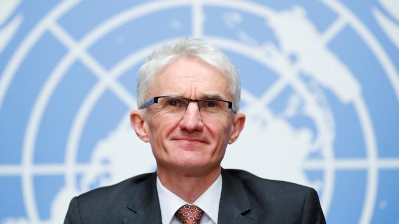 UN-Nothilfekoordinator Mark Lowcock trifft zu erstem Besuch in Syrien ein