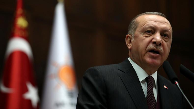 Recep Tayyip Erdoğan kündigt Militäreinsatz in kurdischen Regionen in Syrien an