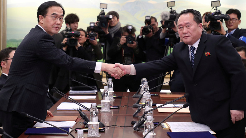 Vor Olympischen Spielen: Direkte Gespräche zwischen Nord- und Südkorea [Video]