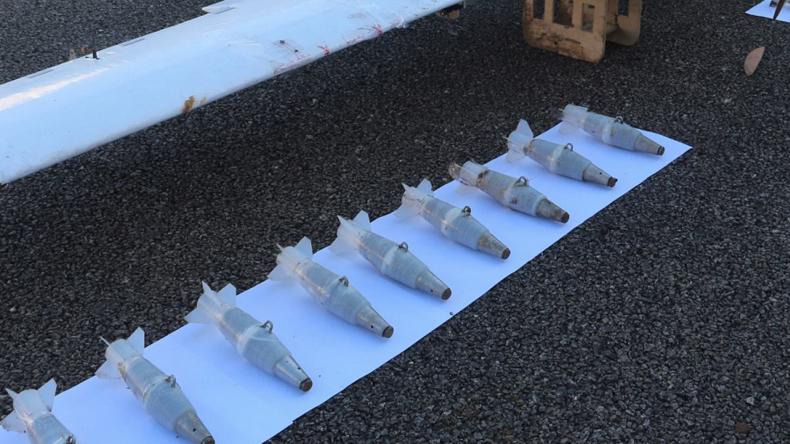 """USA besorgt: Drohnen aus Angriffen auf russische Stützpunkte in Syrien  auf """"freiem Markt"""" verfügbar"""