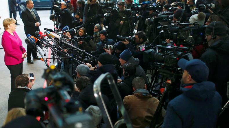 LIVE ab 19 Uhr: Pressekonferenz zu Sondierungssitzung zwischen SPD und CDU/CSU