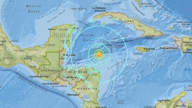Schweres Erdbeben erschüttert die Karibik