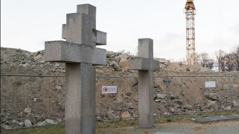 Deutscher Soldatenfriedhof in Tallinn entdeckt