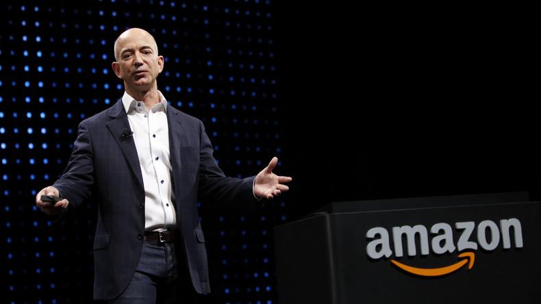 Amazon-Gründer wird zum reichsten Geschäftsmann in der Geschichte